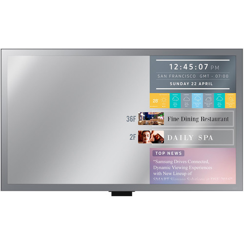 "Samsung ML32E 32"" Full HD Smart Signage Display with Mirror Functionalities"