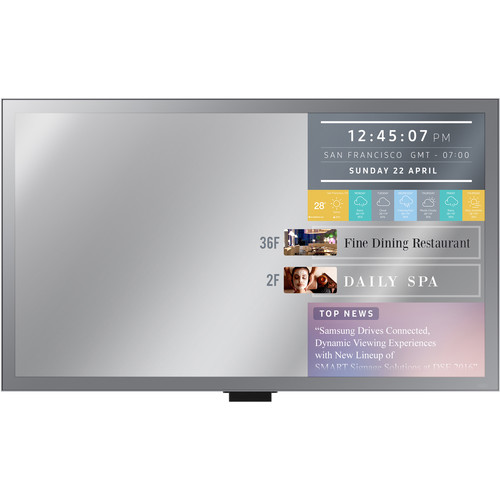 "Samsung ML55E 55"" Full HD Smart Signage Display with Mirror Functionalities"