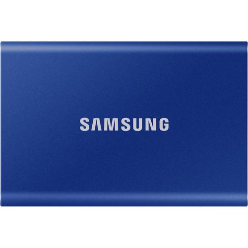 Samsung 2TB T7 Portable SSD (Blue)