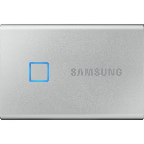 Samsung 2TB T7 Touch Portable SSD (Silver)