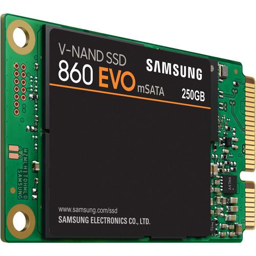 Samsung 250GB 860 EVO SATA III M.SATA Internal SSD