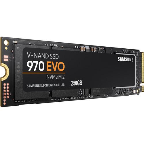 Samsung 250GB 970 EVO NVMe M.2 Internal SSD