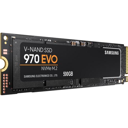 Samsung 500GB 970 EVO NVMe M.2 Internal SSD