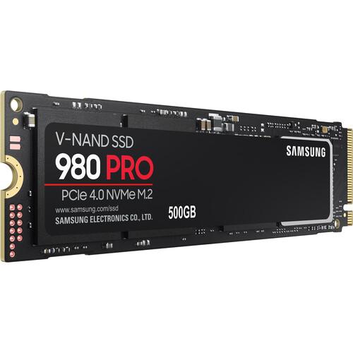 Samsung 500GB 980 PRO PCIe 4.0 x4 M.2 Internal SSD