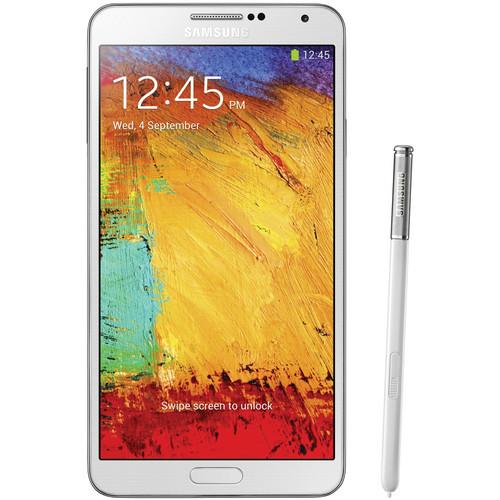 Samsung Galaxy Note 3 N9000 32GB Smartphone (Region Specific Unlocked, White)