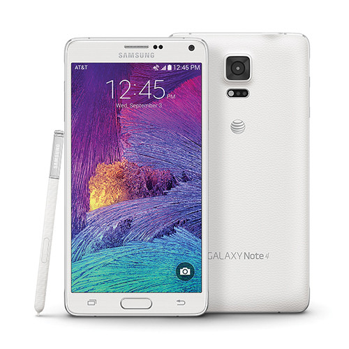 Samsung Galaxy Note 4 32GB AT&T Branded Smartphone (Unlocked, Frost White)