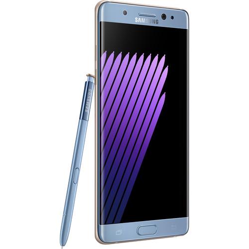 Samsung Galaxy Note 7 N930F 64GB Smartphone (Unlocked, Blue Coral)