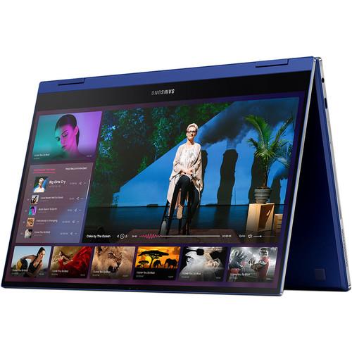 "Samsung 13.3"" Galaxy Book Flex Multi-Touch 2-in-1 Laptop (Royal Blue)"