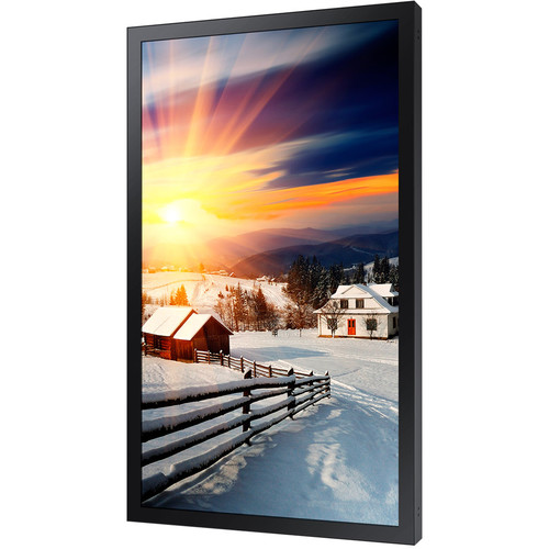 """Samsung OH85F 85"""" 4K UHD Outdoor Signage Display with Embedded Power Box"""