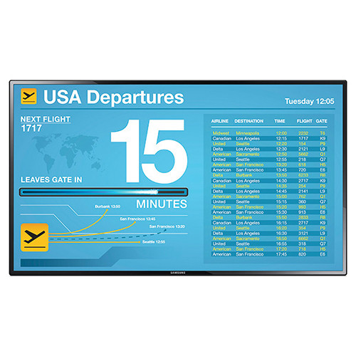 "Samsung PE55C 55""-Class Full HD Commercial LED Display"