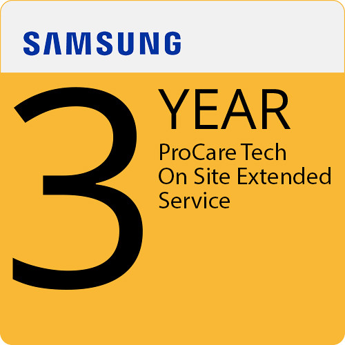 Samsung ProCare Tech On Site 3 Years Extended Service