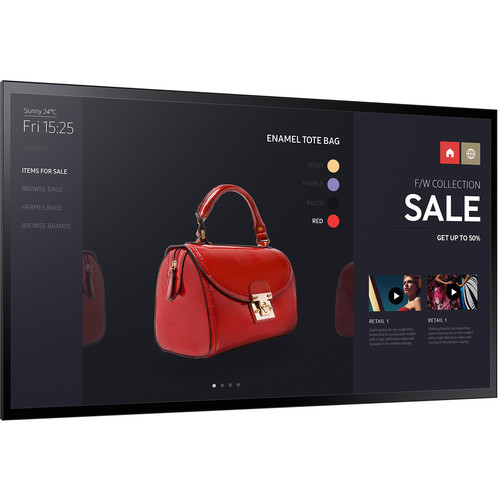 "Samsung PMF-BC Series 55"" SMART Signage LED Display"
