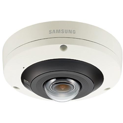Hanwha Techwin Wisenet P Series 12MP Outdoor Network Fisheye Dome Camera with Night Vision