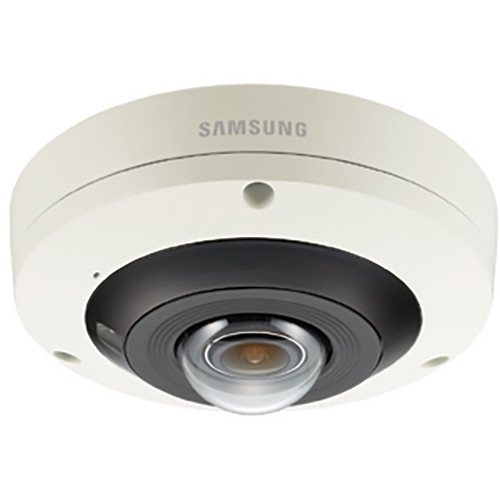 Samsung Techwin Wisenet P Series 12MP Outdoor Network Fisheye Dome Camera with Night Vision