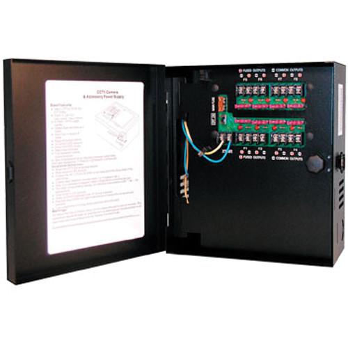 Hanwha Techwin PWR-24AC-4-4UL 4-Camera 24VAC 4A Power Supply