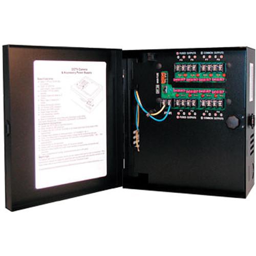 Hanwha Techwin PWR-24AC-8-7 8-Camera 24VAC 7.25A Power Supply