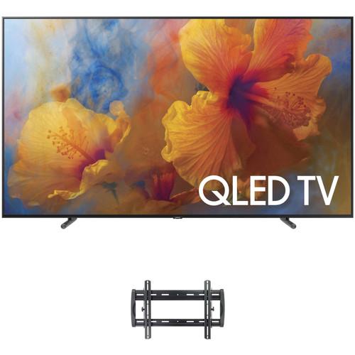"Samsung Q9F-Series 65""-Class HDR UHD Smart QLED TV and Tilting Wall Mount Kit"