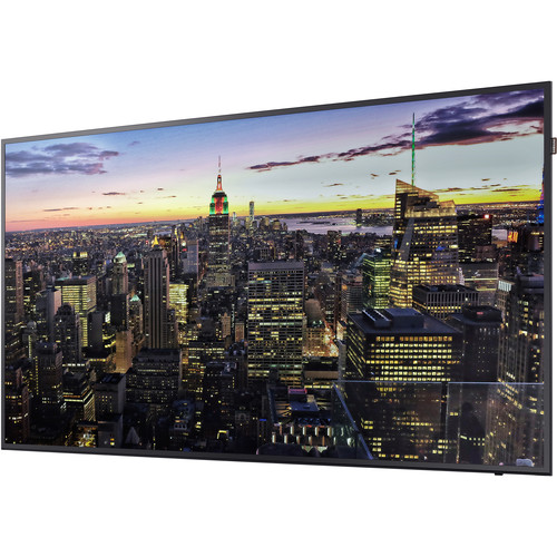 "Samsung QBH Series 75""-Class UHD Commercial Smart Signage Display"