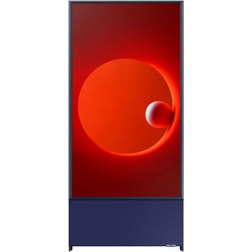 "Samsung The Sero LS05T 43"" Class HDR 4K UHD Smart QLED TV (Navy Blue)"