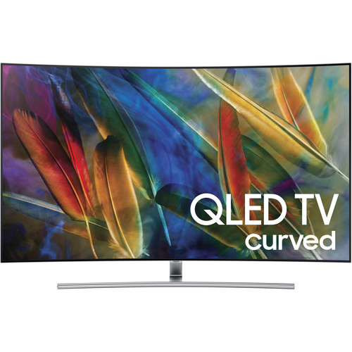 "Samsung Q7C-Series 55""-Class HDR UHD Smart Curved QLED TV"