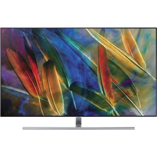 "Samsung Q7F-Series 55""-Class HDR UHD Smart QLED TV"