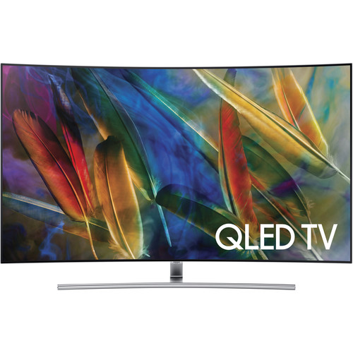 "Samsung Q7C-Series 65""-Class HDR UHD Smart Curved QLED TV"