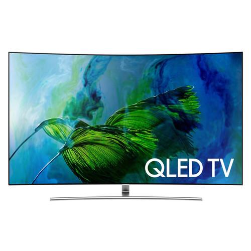 "Samsung Q8C 65"" Class HDR UHD Smart Curved QLED TV"