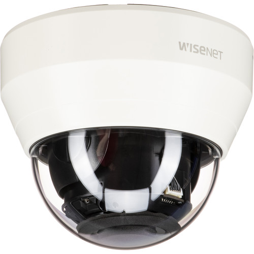 Hanwha Techwin WiseNet Q Series 4MP Network Dome Camera with Night Vision