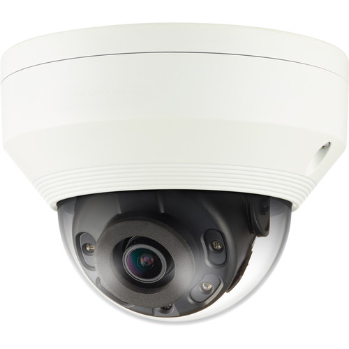 Samsung Techwin WiseNet Q 2MP Full HD Network IR Dome Camera with 2.8mm Fixed Lens (Ivory)