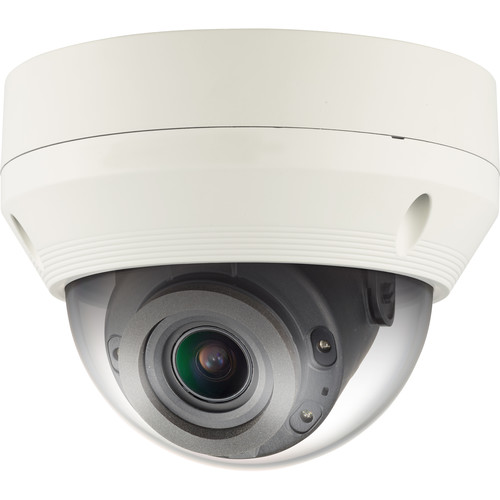 Samsung WiseNet Q 2MP Network IR Dome Camera with 2.8 to 12mm Varifocal Lens (Ivory)
