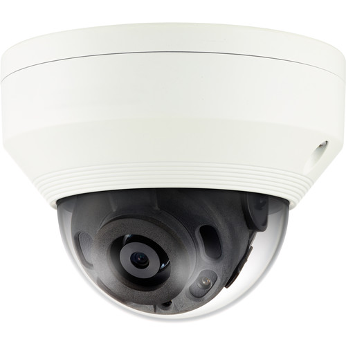 Samsung WiseNet Q 4MP Network IR Dome Camera with 6mm Fixed Lens (Ivory)