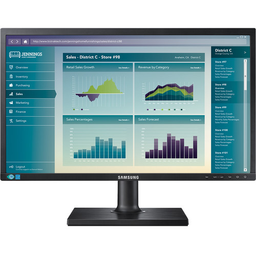 "Samsung S19E450BW 19"" 16:10 Business-Class LCD Monitor"