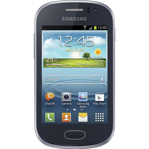 Samsung Galaxy Fame GT-S6812 4GB Smartphone (Unlocked, Blue)
