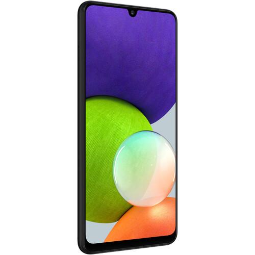 Samsung Galaxy A22 A225M Dual-SIM 128GB Smartphone (Unlocked, Black)