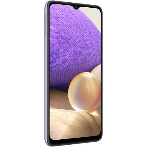Samsung Galaxy A32 A325M Dual-SIM 128GB Smartphone (Unlocked, Lavender)