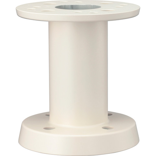 Hanwha Techwin SBU-220PM Indoor/Outdoor Pedestal Mount Adapter for SCU Series Positioning Systems (Ivory)