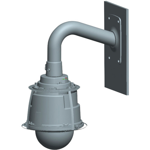 Hanwha Techwin SBU-500WM Wall Mount for SCU Series Positioning Systems (Ivory)