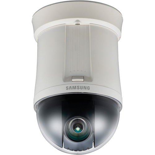 "Samsung SCP-2270 1/4"" 27x High-Resolution Day/Night Indoor PTZ Dome Camera (Ivory, NTSC)"