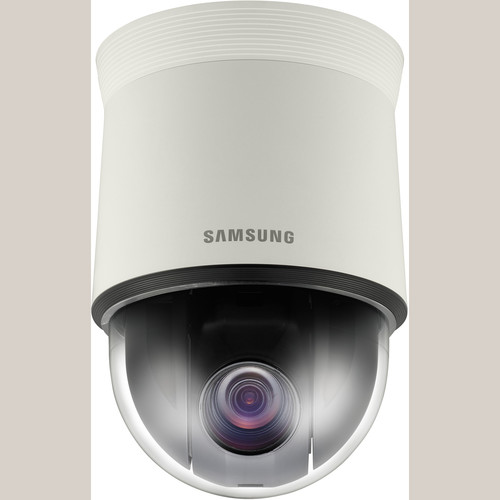 Samsung Techwin SCP-2273 High-Resolution 27x Day/Night Indoor PTZ Dome Camera (Ivory, NTSC)