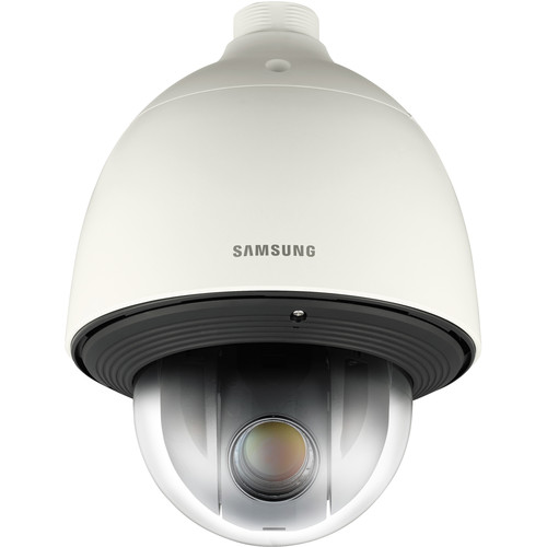 Samsung SCP-2273H High-Resolution 27x Day/Night Environmental PTZ Dome Camera with Built-In Heater (Ivory, NTSC)