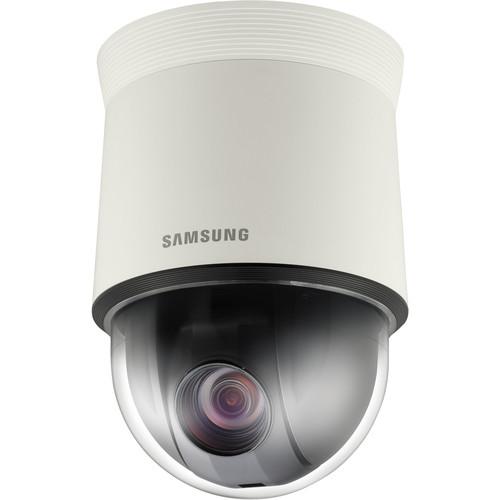 Hanwha Techwin SCP-2373 High-Resolution 37x Day/Night Indoor PTZ Dome Camera (Ivory, NTSC)