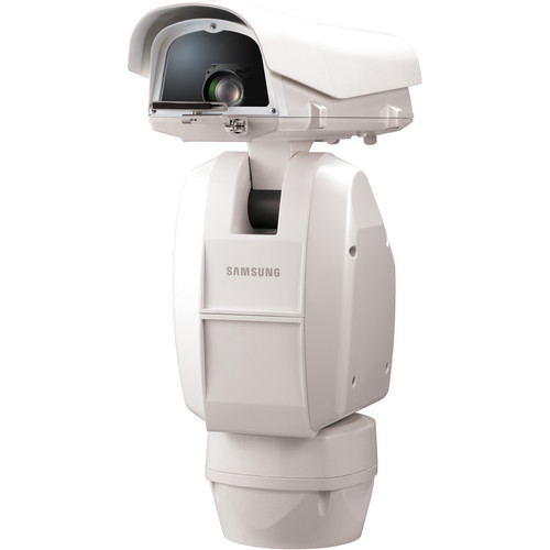 Hanwha Techwin SCU-2370 360° Day/Night 37x Weatherproof Outdoor Positioning System (Ivory, NTSC)