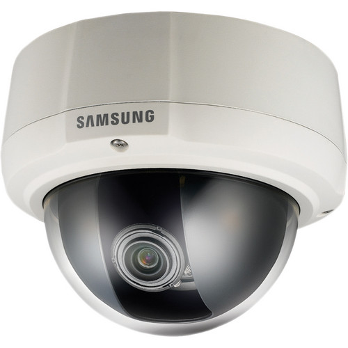 Samsung Techwin SCV-3082 Premium Resolution WDR Vandal-Resistant Dome Camera