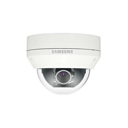 Samsung Beyond 1000 TVL WDR Vandal-Resistant Dome Camera (NTSC, Ivory)