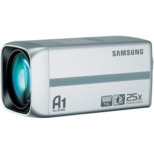 "Samsung Techwin SCZ-3250 1/4"" High-Resolution Analog Camera with 25x Zoom Lens (NTSC, Silver)"