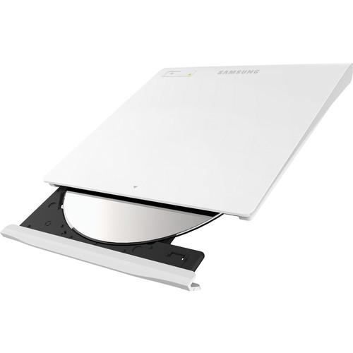 Samsung SE-208GB/RSWD Slim External USB DVD-Writer (White)