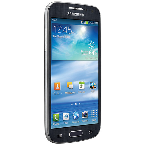 Samsung Galaxy S4 Mini SGH-I257 16GB AT&T Branded Smartphone (Unlocked, Black Mist)