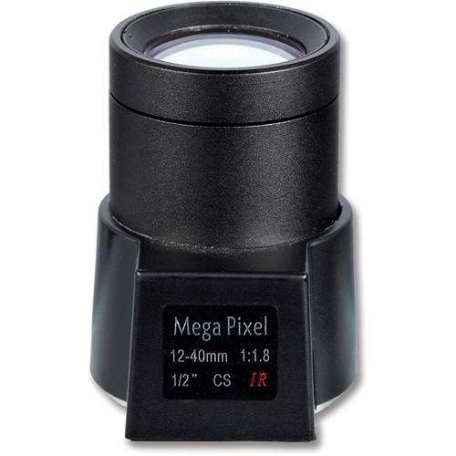 Hanwha Techwin SLA-E-M1240DN CS-Mount 12-40mm F/1.8 D/N Auto Iris Varifocal Lens