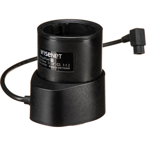 Hanwha Techwin CS-Mount 2.8-9mm Varifocal Lens (DC Auto-Iris)