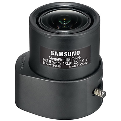 Hanwha Techwin CS-Mount 2.8-9mm Varifocal Lens (P-Iris)